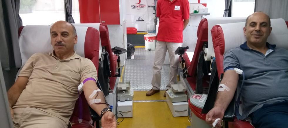 170 Ünite Kan Bağışlandı