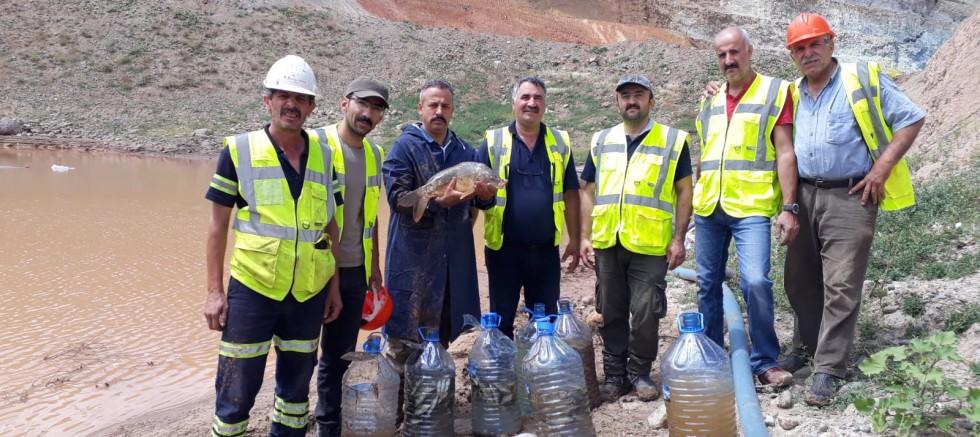 2 bin balık bataklıktan kurtarıldı