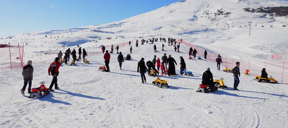 50 Divriğili Öğrenci Kayak Öğrenecek