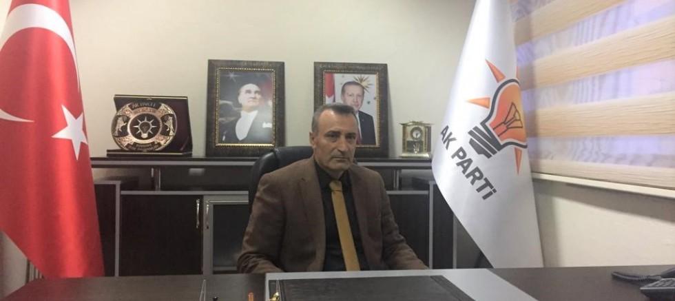 AK Parti İlçe Başkanı Yasin Uyanık : Divriği  Açıklama  Bekliyor
