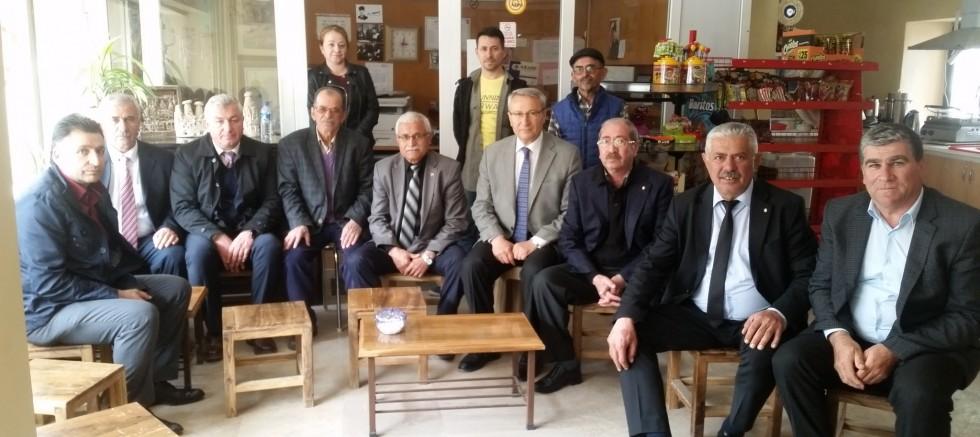 Belediye Başkanı Hakan Gök esnafı ziyaret etti