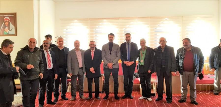 Birlik Cem'ine Kaymakam Mehmet BEK'te katıldı