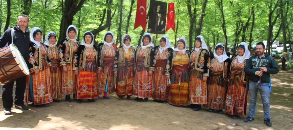 Çakmakdüzü Köyü geleneksel pikniği yapıldı
