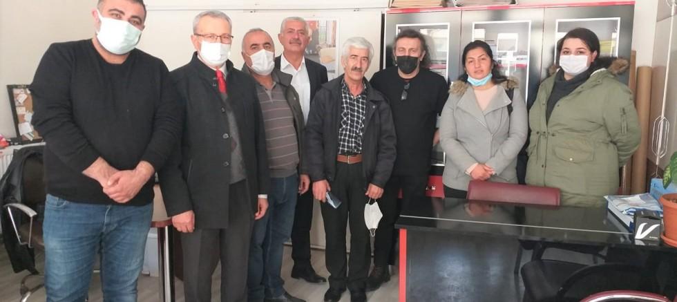 CHP İlçe Yönetiminden Esnaf Ziyaretleri