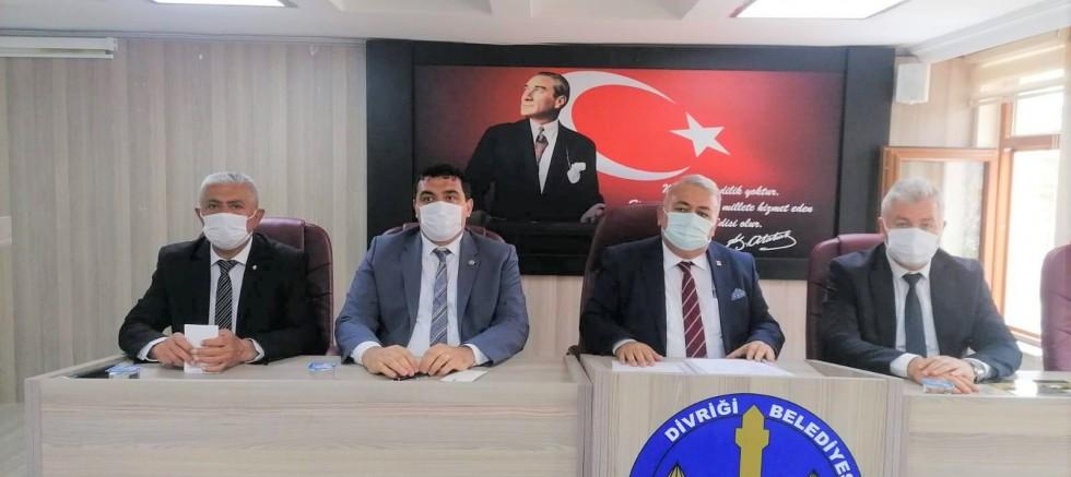 CHP'li Başkanlar Divriği'de Toplandı