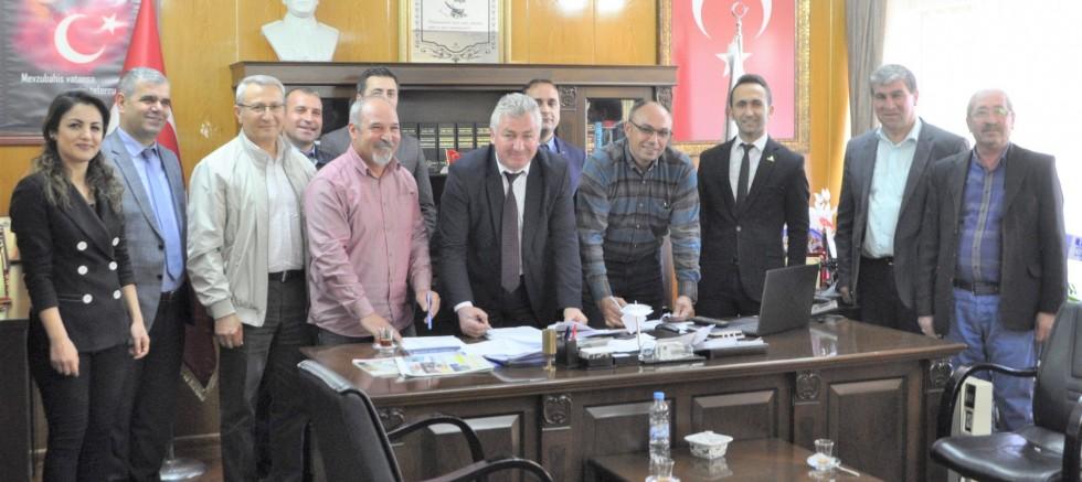 Divriği Belediyesinde Toplu Sözleşme imzalandı