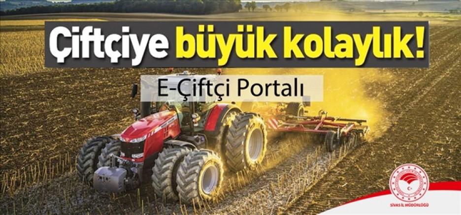E-Çiftçi Sistemi Uygulamaya Girdi