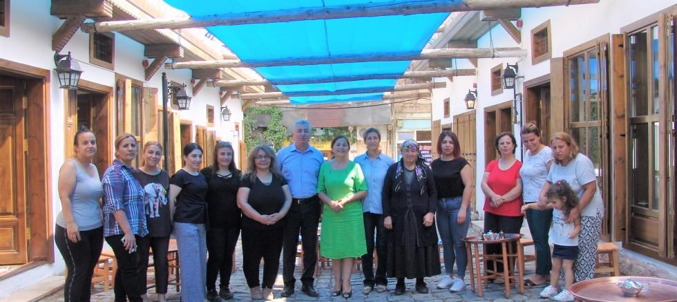 Hüma Hatun Sokağı açılışı 24 Temmuz'da
