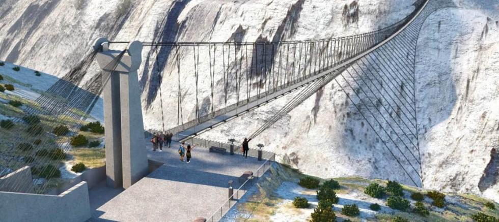 Karanlık Kanyon'a 750 Metrelik Asmaköprü