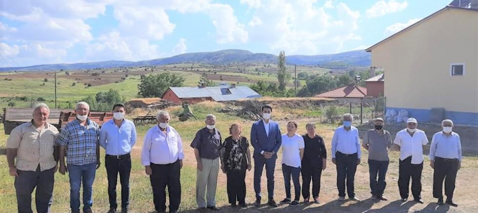 Kaymakam Mehmet BEK'in Köy Ziyaretleri