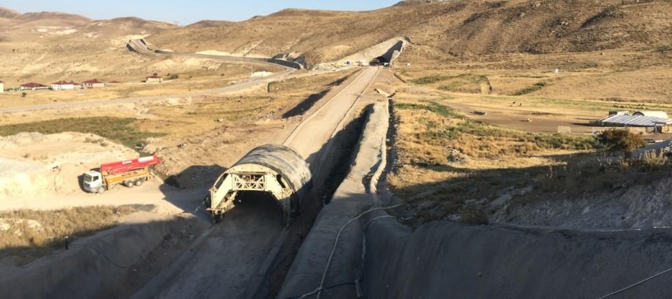 Sarıçiçek Tünelleri 2021'de Tamamlanıyor