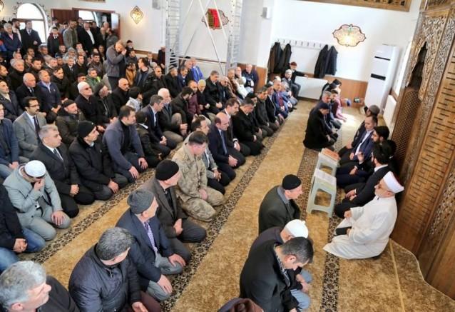 Şehitler Camii Açıldı