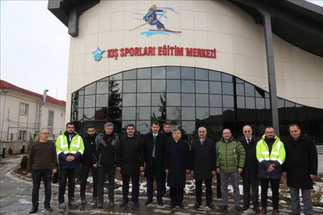 Sivas kayak eğitim merkezine kavuşuyor