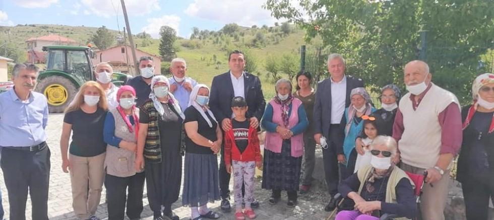 Ulaş Karasu, Çamşıhı'da Vatandaşlarla Buluştu