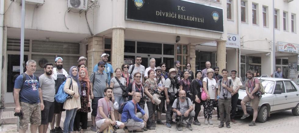 Uluslararası FOTOKAMP Etkinliği'ne Divriği'de dahil edildi